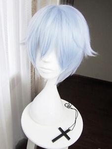 IDOLiSH7 Idolish 7 Re:vale yotsuba tamaki Cosplay Perücke wig Kurz Short Blau