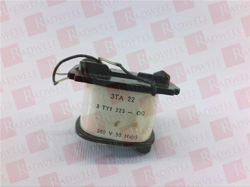 SIEMENS 3TY1223-0Q   3TY12230Q (USED TESTED CLEANED)