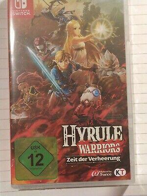 Hyrule Warriors Zeit Der Verheerung Nintendo Switch Neu Ovp Ebay