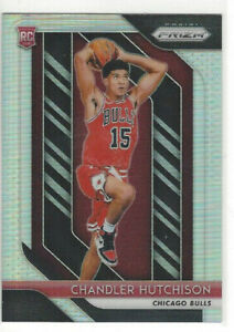 2018-19-Panini-Prizm-Silver-70-Chandler-Hutchison-Rookie-Card-Chicago-Bulls
