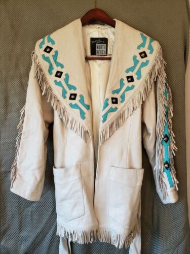 Michael Hoban North Beach Leather Jacket Women Sz