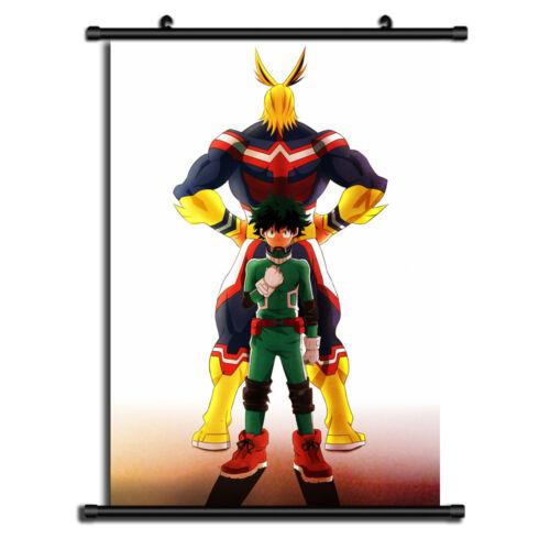 Boku No Hero Academia Anime Wall Art Home Decoration Scroll Poster