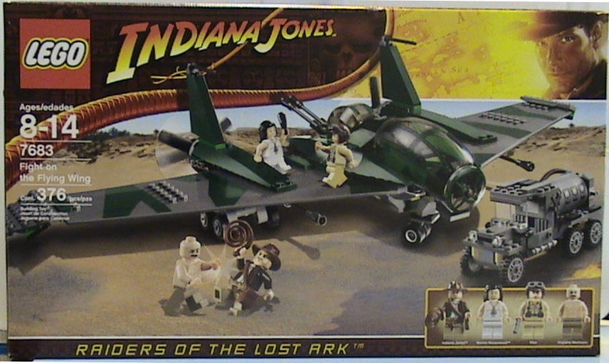 NEW Lego Indiana Jones Fight On The Flying Wing Wing Wing MISB Sealed 9679f9