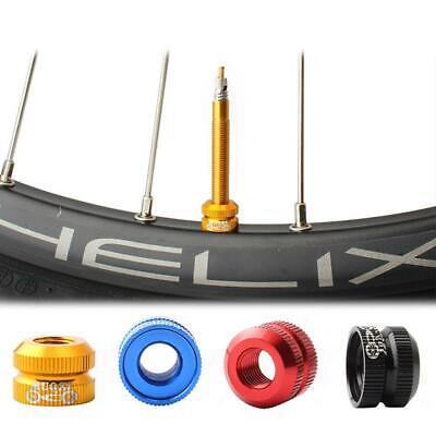 1 Pcs Nut Mountain Bikes Bicycle For Presta Valve Tube Nozzle Safety D0V1