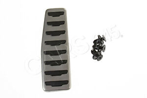 FOOTREST PEDAL FOR LAND ROVER RANGE ROVER EVOQUE WITH BLACK RUBBER BACKING