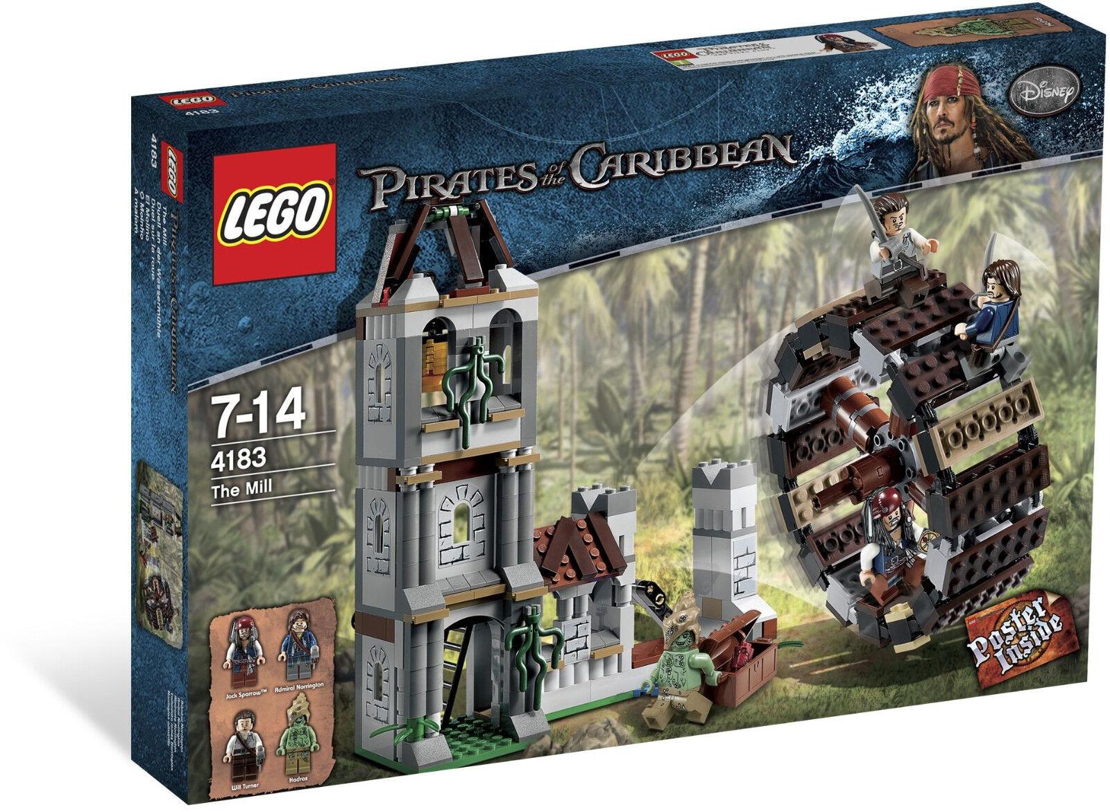 2011 Lego retirado Piratas del Caribe 4183 El Molino, Raro Conjunto, Nuevo Y Sellado
