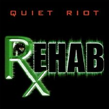 """Quiet Riot """"ReHab"""" CD Kevin DuBrow Frankie Banali Hairbands Hard Rock Glam 80s"""