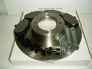 182-170K-MG-MGB-GT-DISC-BRAKE-ROTORS-OE-X-2-PADS-SPLIT-PINS-PAD-CLIPS-LOCK-TABS