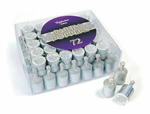 Party-Poppers-for-any-occasion-Silver-Holographic-Party-ware-20-40-60-henbrandt