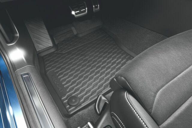 Originale VW Tappetini - Tutti i Mat Meteo - in Gomma Passat B8 - 4er Set