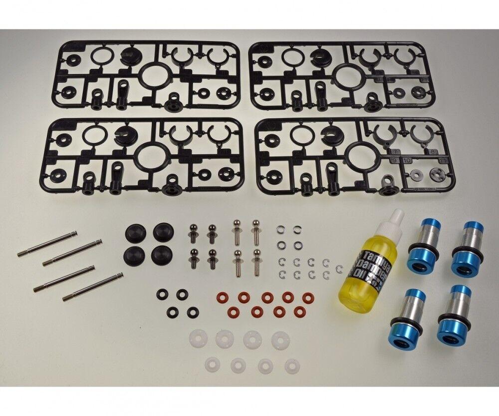 TAMIYA 300054670-gf-01 in alluminio la pressione dell'olio ammortizzatori set (4) (4) (4) - NUOVO 48fda3