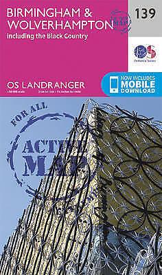 Birmingham & Wolverhampton, Paperback By Ordnance Survey, Isbn 0319474623, Is... Mooi Van Kleur