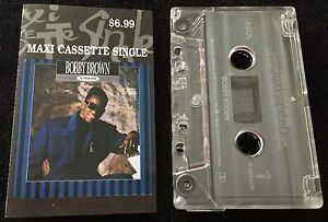 Every-Little-Hit-Mix-5-Tracks-BOBBY-BROWN-Maxi-Cassette-Tape-Single