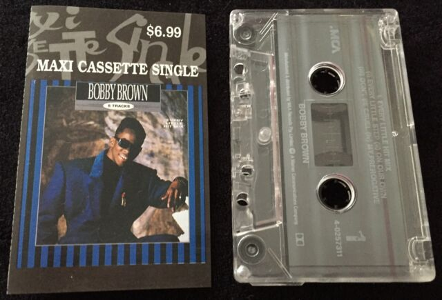 Every Little Hit Mix (5 Tracks) ~ BOBBY BROWN Maxi Cassette Tape Single