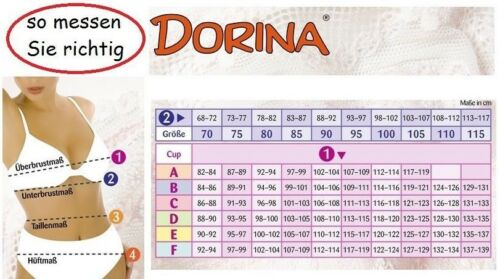DORINA D-1261 BH ANNA leicht elegant sportlich wellness bra zum Wohlfühlen