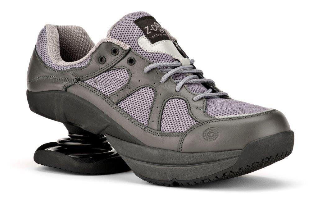 Z-coil Liberty Gris Bobina zcoil Mujer FW-K1004-W Comfort amplia Ortopédico Zapatos zcoil Bobina 682933