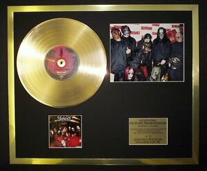 SLIPKNOT-PHOTO-PIC-CD-GOLD-DISC-RECORD-FREE-P-P