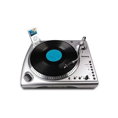new numark tti usb phonograph record player turntable ipod dock preamp new 676762319119 ebay. Black Bedroom Furniture Sets. Home Design Ideas