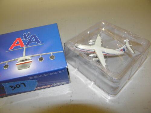 """JET-X JX307 AMERICAN AIRLINES BAe-146-300 N699AA 1:400 3/"""" DIECAST MODEL PLANE"""