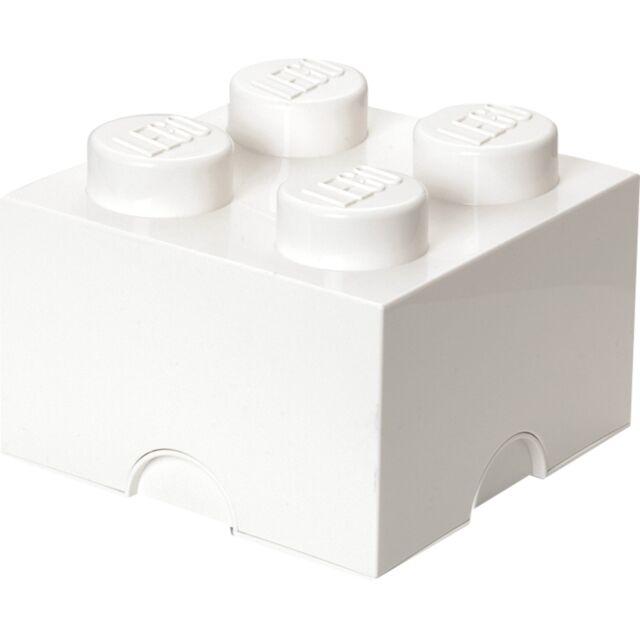 Room Copenhagen LEGO Storage Brick 4 weiß, Aufbewahrungsbox