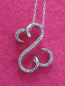 Jane-Seymour-10K-White-Gold-Open-Heart-1-8ct-Diamond-Necklace-449-OFFER-WELCOME