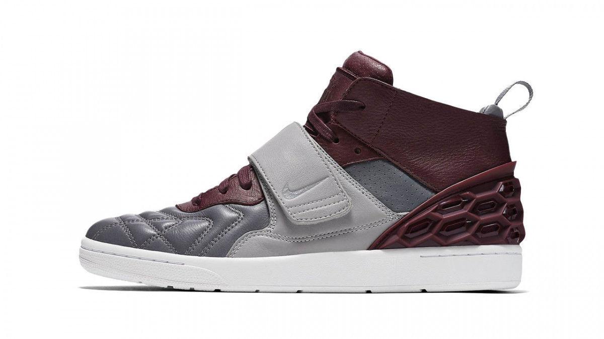 Nuove nike tiempo vetta qs scarpe da uomo 845045 006 grigio marrone sz 10