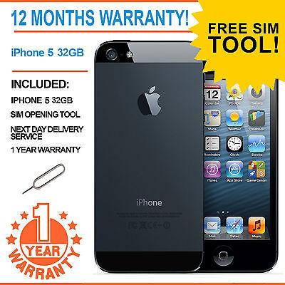 Apple iPhone 5 - 32 GB - Black & Slate (Unlocked) Smartphone