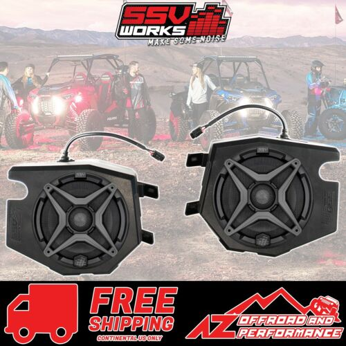 SSV Works Front Speaker Pods with Speakers for 2014-2018 Polaris RZR XP 1000