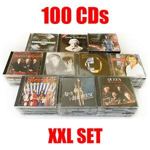 100 AUDIO-CDs zum Top Preis! XXL Sammlung, Konvolut, Musik, Alben, Sampler