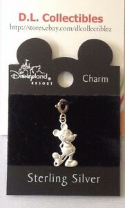 Disney-Sterling-Silver-Charm-Piece-Mickey-Mouse-Dangle-Charm