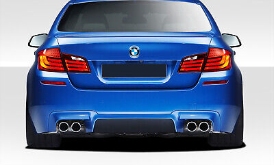 Compatible With 5 Series 2004-2010 1 Piece Body Kit Brightt Duraflex ED-RIB-236 M5 Look Rear Bumper Cover