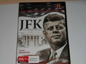 JFK-50th-ANNIVERSARY-THE-JFK-ASSASSINATION-DOCUMENTARY-DVD-R4-LIKE-NEW