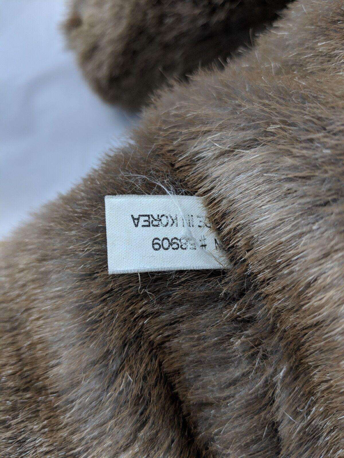 Braun Bear Furry Bear Braun Plush Korea 16