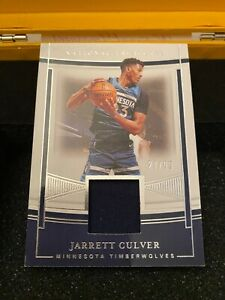 2020-21 Panini National Treasures Jarrett Culver Jersey Patch #27/99 Material