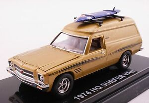 Road-Ragers-1974-Holden-HQ-Sandman-Surfer-Panel-Van-Sunburst-Orange-Diecast-1-64