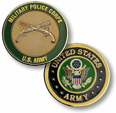 NEW U.S. Army Military Police Corps Challenge Coin. 61556.