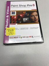 Paint Shop Pro 8 PC Photo & Video Graphics Editor Jasc Software