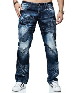 KOSMO-LUPO-Herren-Jeans-Hose-Denim-Japan-Style-NEU-KM130