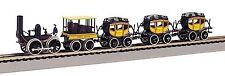 641 Coffret train vapeur The DeWitt Clinton 1/87 HO