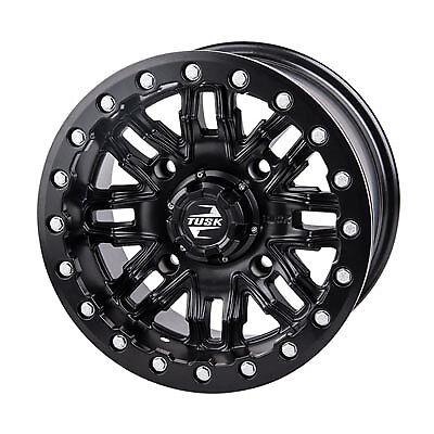 4//156 Tusk Nebo Beadlock Wheel 14x7 5.0 2.0 Matte Black for Polaris RANGER RZR