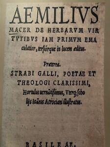 Cinquecentina-DE-HERBARUM-VIRTUTIBUS-Virtu-Delle-Erbe-1527