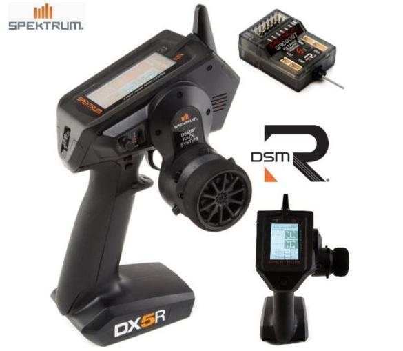 Spektrum SPM5000 DX5R 5-Channel DSMR Transmitter with SR6000T Receiver