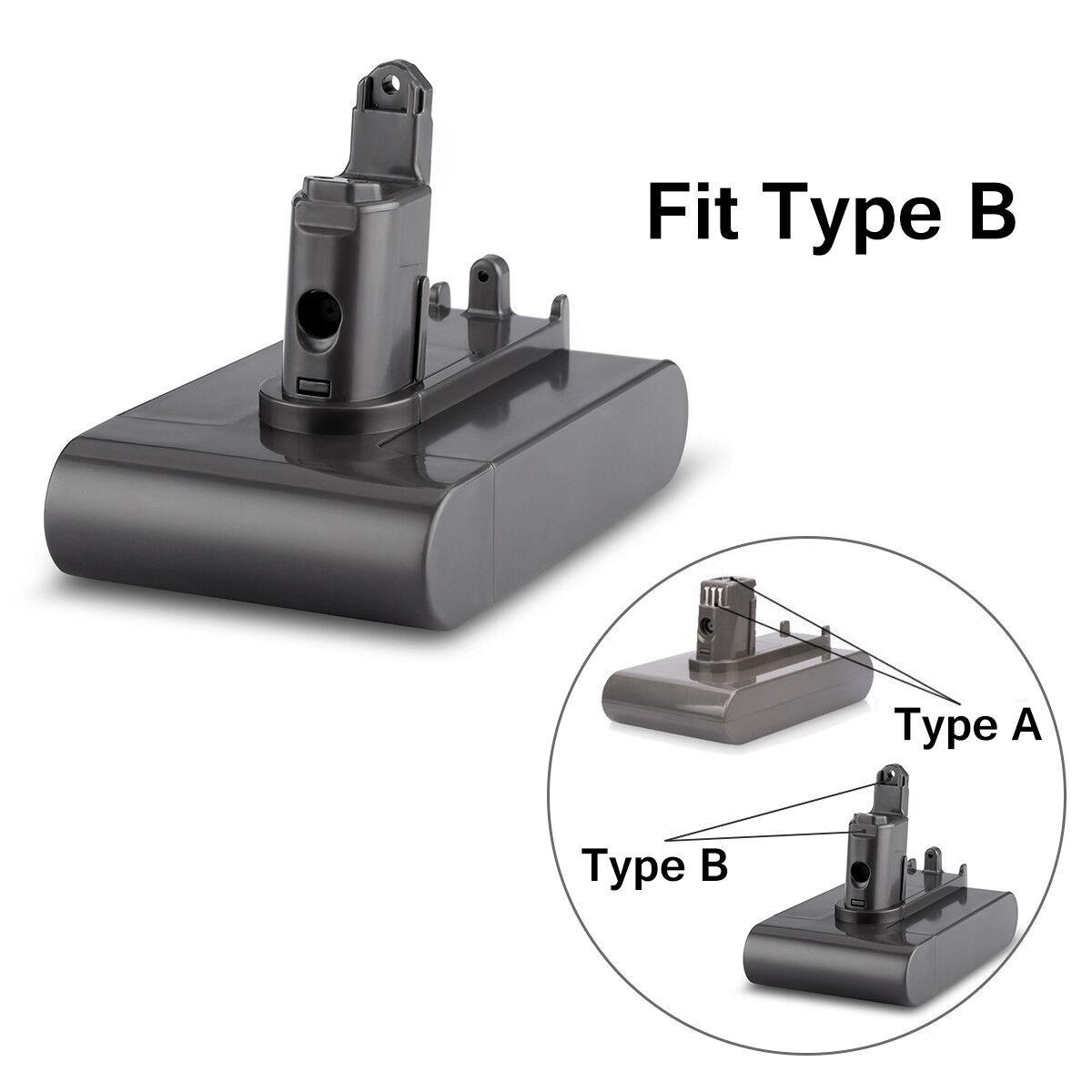 22.2V 3000mAh Type B Vacuum Cleaner Battery For Dyson DC31 DC44 Animal DC45 DC34 2