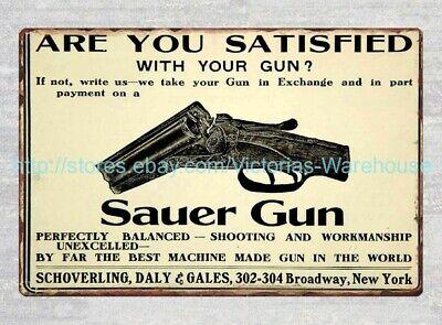 "1952 Savage Stevens Fox Model 99 Gun Rifle Shotgun Metal Sign 9x12/"" 60649"