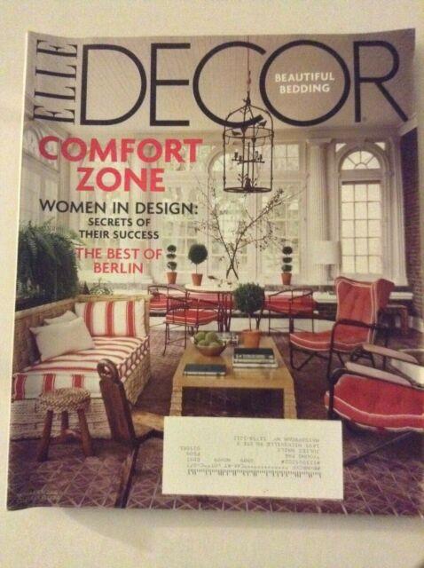 Elle Decor Magazine Women In Design November 2009 ...