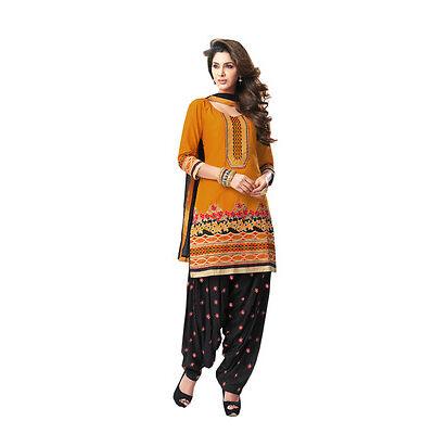 Indian designer  Patiala cotton  Dress material  1903