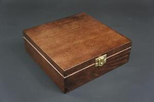 1-x-Brown-Wooden-Jewellery-Treasure-Chest-Keepsake-Box-Trinket-Storage-P18b