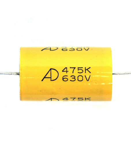 475K 475 K ±10/% Axial Type For Audio Amp AID 10pc MPT Capacitor 4.7uF 630V