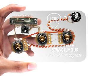 920D-Custom-S7W-David-Gilmour-7-Way-faisceau-de-cables-pour-Fender-Strat-Stratocaster