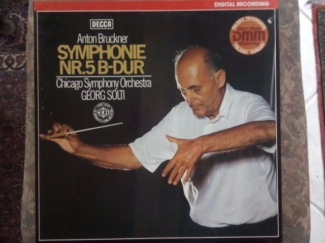 2 LP Box Bruckner Symphonie Nr.5 Georg Solti & Chicago Symphony Orchestra